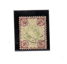 Gran Bretaña Monarquias valor del año 1887-900 (BK-58)