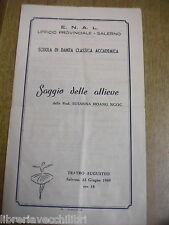 SAGGIO DELLE ALLIEVE Scuola danza classica SALERNO 1969 Susanna Hoang Ngoc di a