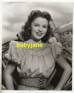 SHIRLEY TEMPLE ORIGINAL 8X10 PHOTO BY BERT SIX TEENAGE PORTRAIT 1947 HAGEN GIRL