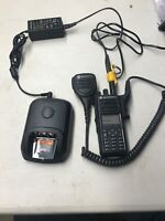 Motorolla XPR 7580E Radio With charger And Mike And Battery 800/900MHZ