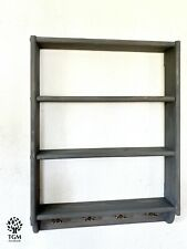 s19 Timber Shelf | Hanging Wall Shelving Unit | Shelving Set |Shelf With Hangers