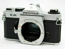 Asahi Pentax KM 35mm SLR Film Camera Body Only *For Repair* #E011f