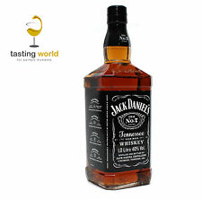 1 LITER! Jack Daniels Old No.7 - Tennessee Sour Mash Whiskey - 1,0l 40%