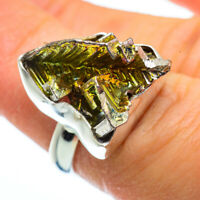 Bismuth Crystal 925 Sterling Silver Ring Size 6.25 Ana Co Jewelry R40318F