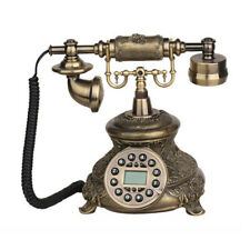 Télèphone Landline Corded Téléphone Vintage Antique Old Fashioned Rétro Accueil