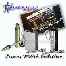 Permanent Striker Match Lighter Fire Starter Emergency Waterproof Survival Metal