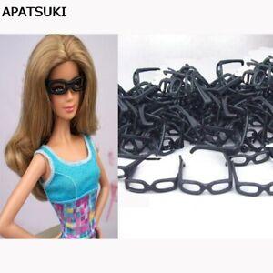 10pcs Plastic Lensless Glasses For Barbie Doll Accessories For Ken Boy Dolls Toy