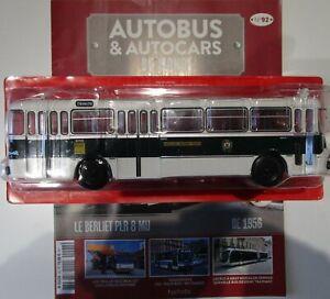Ixo 1/43 - Autobus et autocars du monde 92 - Berliet PLR 8 Nice