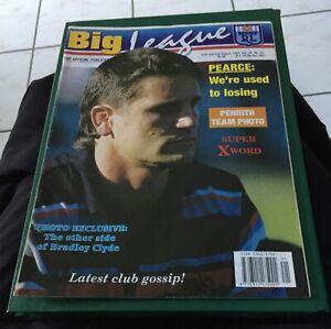 Big League 1994 Vol 75 No 21 Julian Penrith Panthers Team Photo Bradley Clyde
