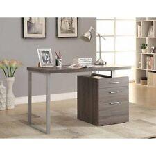 Coaster Furniture 800520 Desks Writing Desk with File Drawer, Weathered Grey