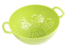 Culinary Elements 6-inch Mini Colander with Double Handles and Deep Bowl, Green