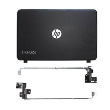 NEW FOR HP 15-g001xx 15-g060ca 15-g063nr 15-g070nr  LCD back cover + hinges
