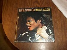 "MICHAEL JACKSON ANOTHER PART OF ME LIMITED POSTERBAG OFFICIAL 7"" SINGLE NO PROMO"