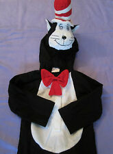 CHILDS DR SEUSS CAT IN THE HAT FANCY DRESS DRESS UP OUTFIT  AGE 3 - 5 YRS