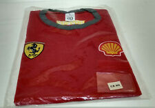 Formula 1 F1 Scuderia Ferrari - New T-Shirt Shell Ferrari Team With Patch Size L