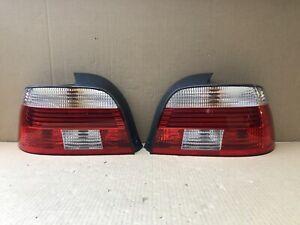 2001 2002 2003 BMW E39 525i 530i 540i M5 Driver Passenger Tail light TESTED OEM