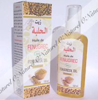 Huile de Fenugrec BIO SPRAY 100% Pure 120ml Fenugreek Oil, Aceite de Fenogreco