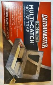 One Catchmaster Multi-Catch Indoor/Outdoor Mouse Trap with Glue Board new