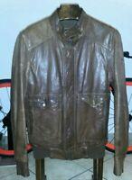 Timberland jacket leather very rare giubbino pelle m/s no belstaff Stone Island
