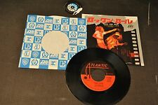 7 45 Led Zeppelin  ‎– Rock And Roll / Four Sticks Atlantic ‎– P-105A  japan 1976