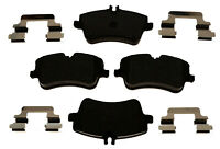Disc Brake Pad Set-Semi-Metallic Front,Rear ACDelco Advantage 14D872MH