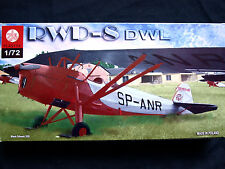 RWD-8 DWL POLISH LIGHT TRAINER AIRCRAFT, ZTS PLASTYK, SCALE 1/72