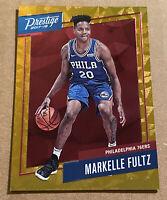 Markelle Fultz RC 2017-18 Panini Prestige Philadelphia 76ers Rookie Orange #1