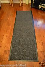 Large Small Kitchen Heavy Duty Barrier Mat Non Slip Rubber Back Door Rugs Dirt Grey/black 60 X 180cm Runner