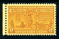 USAstamps Unused VF US Special Delivery Scott E18 OG MNH