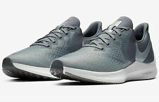 NIB MEN'S NIKE AQ7497 002 ZOOM WINFLO 6 RUNNING COOL GREY/ PLATINUM SHOES-Sz-13