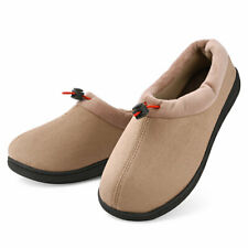 Women's Memory Foam Slippers Warm Lightweight House Shoes w/ Elastic Rope