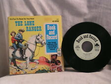 1977 THE LONE RANGER RECORD AND BOOK