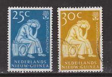 Indonesia Nederlands Nieuw Guinea New Guinea  61-62 used gestempeld 1960