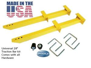 """Universal Adjustable Traction Bars 28""""  Ford Chevy Chrysler MADE IN THE USA"""