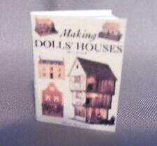 Dollhouse Miniature 1:12 Scale Making Dollhouses Book