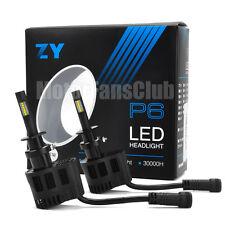 New ZY P6 90W 9000LM LED Headlight Kit Conversion Canbus Bulb H3 6000K