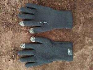 Sealskinz Waterproof All Weather Ultra Grip Black Small