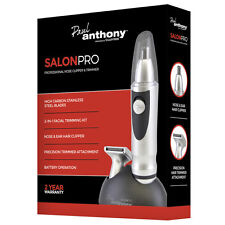 Paul Anthony Battery Operated Nose And Ear Facial Hair Clipper Nasal Trimmer