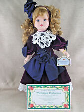 1996 Melissa Jane Victorian Collection Edition Porcelain Doll