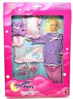 Barbie Slumber Party Fashion Pajamas, Pillow, Teddy Bear + More  68221-94 (NEW!)