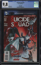 Suicide Squad #6 CGC 9.8 WP 2nd Printing Harley Quinn cover Origin Harley Quinn
