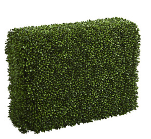 """41"""" Boxwood Artificial Hedge Realistic Nearly Natural Home Garden Decoration"""