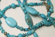 Carolyn Pollack Relios Sterling Silver Turquoise Necklace 1201D-10