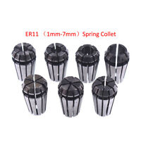 ER11 2-7mm Spring Collet for CNC Engraving Machine Milling Lathe Tool Precision