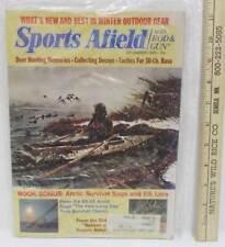 Sports Afield Magazine December 1976 Deer Hunting Decoys Vintage Advertising