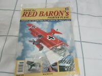 BUILD THE RED BARON'S FIGHTER PLANE FOKKER DR1  HACHETTE  ISSUE 26