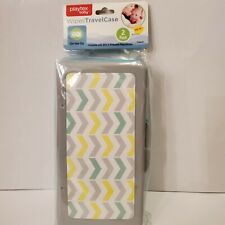 Playtex Wipes Cute Travel Case 2 Pc baby boy