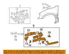 TOYOTA OEM 01-05 RAV4 FENDER-Rail Assembly Right 5710142100