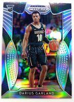 2019-20 Panini Prizm Draft Picks Silver Darius Garland Rookie RC #68, Cavaliers