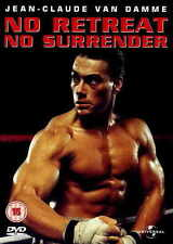 NO RETREAT NO SURRENDER Movie POSTER 27x40 UK Kurt McKinney J.W. Fails